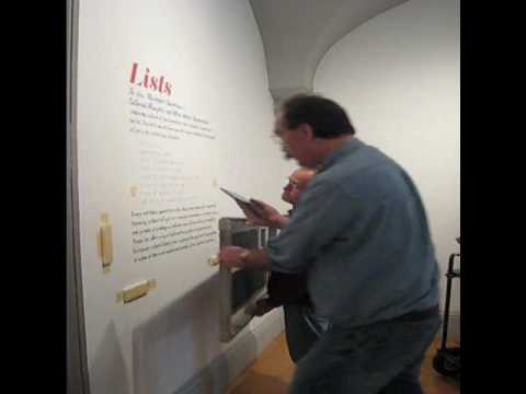 Lists-exhibition-installation.wmv