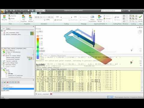 Autodesk Labs: Project Scandium for Simulation Moldflow Injection Compression