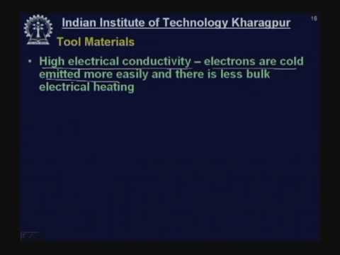 Lecture - 39 Electro - Discharge Machining