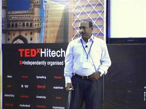 TEDxHitechCity - Raj Shekar - Heart of Living