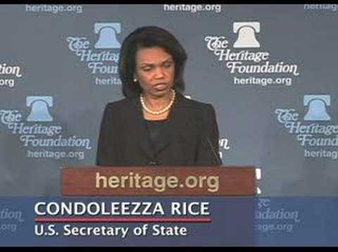 Condoleezza Rice on Six-Party Talks With North Korea