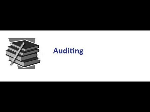 Understanding Auditing Part One