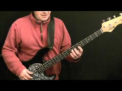 Learn How To Play Bass Guitar - Hammer To Fall - Queen - John Deacon