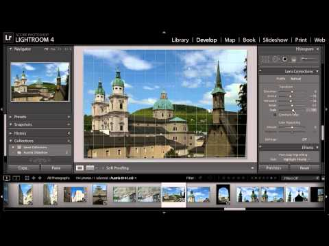 Lightroom for Travel Photography: Correcting Perspective