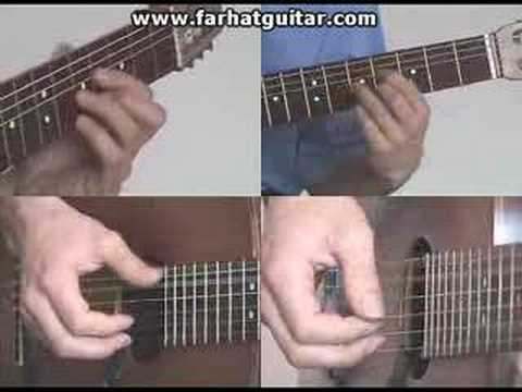 Right hand guitar exercise 7 - Clasical Guitar