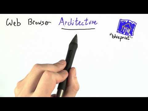 Web Browser Architecture - CS262 Unit 6 - Udacity