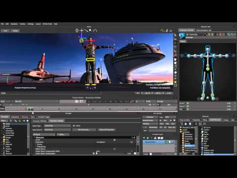 MotionBuilder 2012 New Features part 1- HumanIK and Stereo Camera