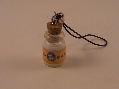 Legend of Zelda Lon Lon Milk Cell Phone Charm