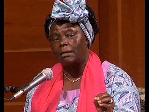 Wangari Maathai: Money Alone Won't Help Africa