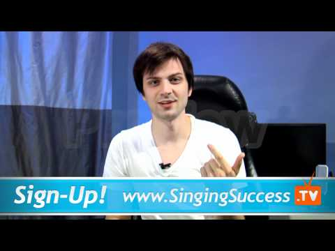 How to Become a Singer - Singing Lessons - Beginner Hang-Ups