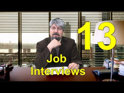 Learn English with Steve Ford - Business English 13 - Job Interviews - NYC