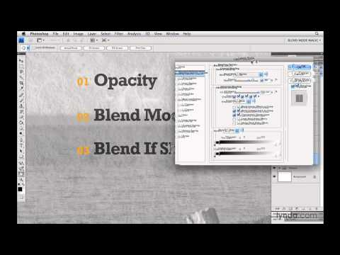 Photoshop: The three kinds of blending in Photoshop   lynda.com