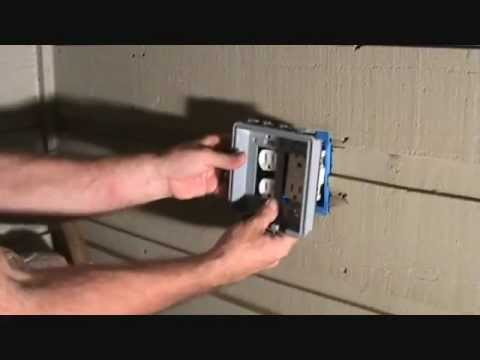 Connecting a switch & plug combo to a GFCI receptacle...Part 5