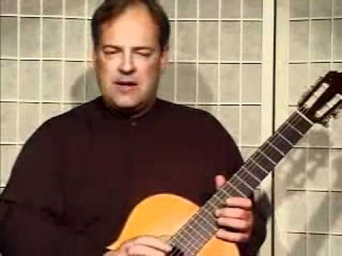 Guitar Lesson - Fingerings For The Left Hand In The Classical Guitar