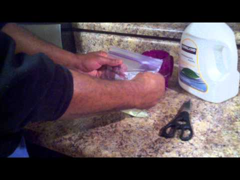 DIY- How To Make Your Own Freezer Gel Packs