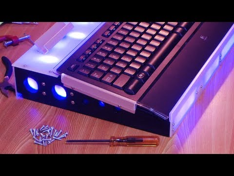 DIY.LED USB Keyboard Base For Fast Typing-Easy Controlling