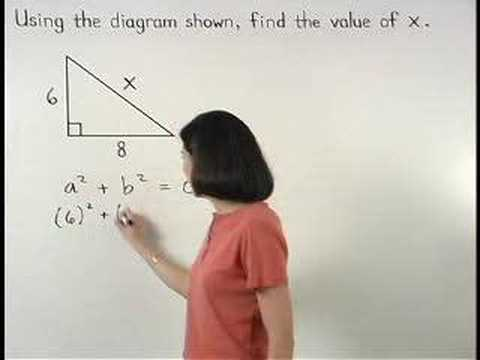 Pythagorean Theorem - YourTeacher.com - Geometry Help