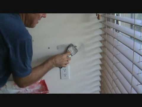 How to patch drywall: Applying the lightweight all purpose joint compound