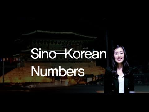 [Korean Video Homework] - Numbers (sino-Korean)