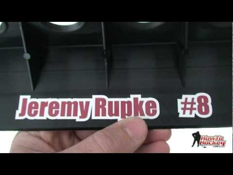 Get a Personalized Hockey Stick Rack