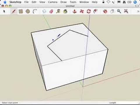 SketchUp: Working through thick and thin
