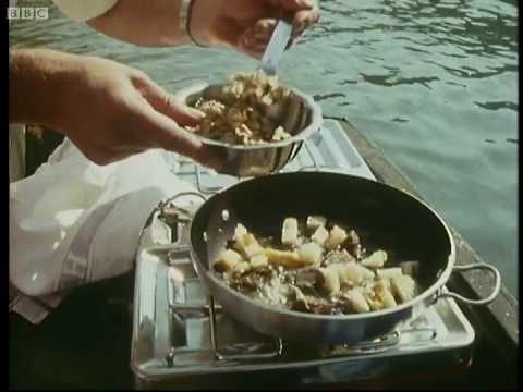 Goose and walnut salad - Keith Floyd - BBC