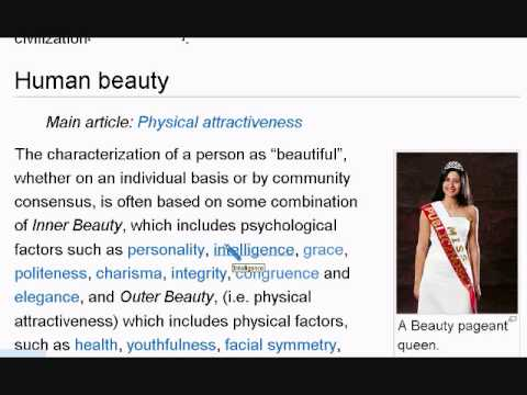 Learn English Reading Lesson #27 Human Beauty