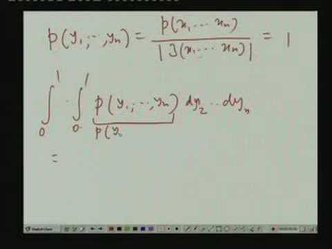 Lecture - 25 Conditional Densities of Random Vectors