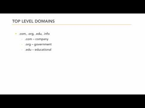 Managing hosted web sites: Domain names | lynda.com tutorial