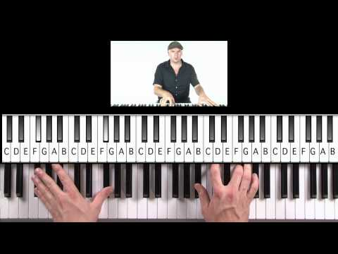 "How to Play ""Hometown Glory"" (Practice Cover) by Adele on Piano"