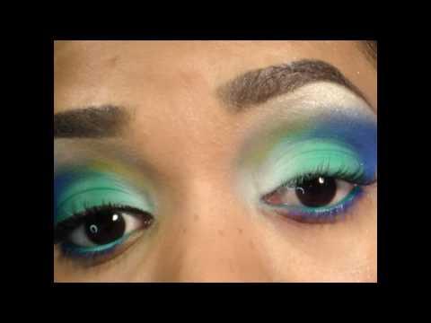Turquoise Sugar Look - Tutorial