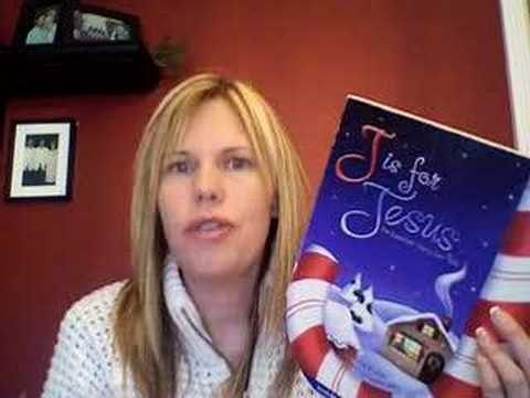 Children Christmas Book Review J is for Jesus