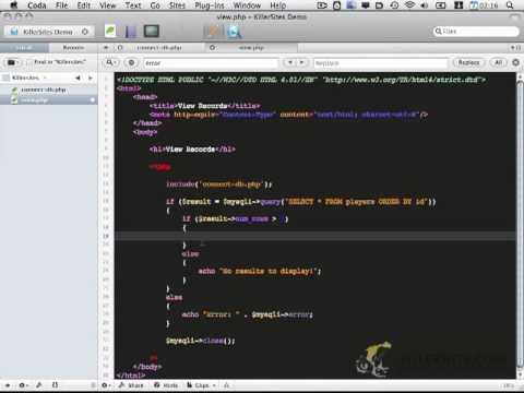 PHP CRUD Basics - Part 2