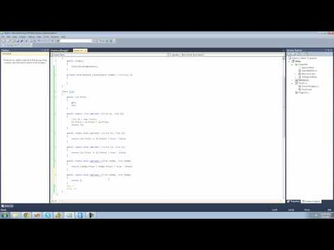 C# Beginners Tutorial - 150 - Overloading Operators pt 3