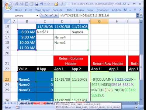 Excel Magic Trick #149.5: Reverse 2-Way Lookup w Duplicates
