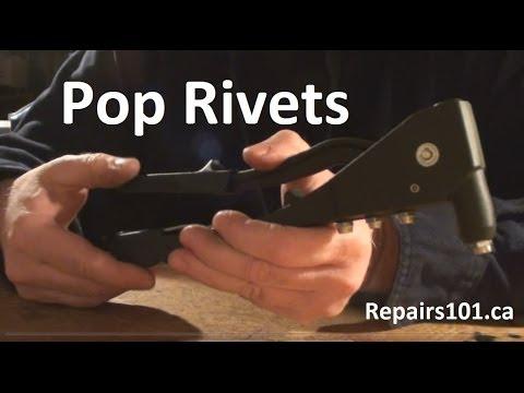 Pop Rivets - Garden Hose Hanger Fix