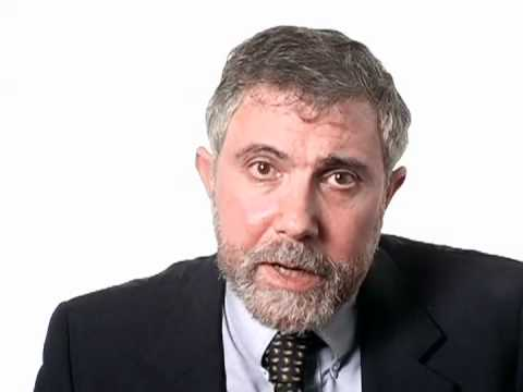 Paul Krugman Explains the Recession