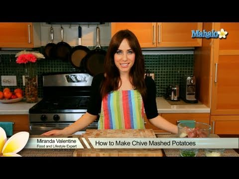 How to Make Chive Mashed Potatoes