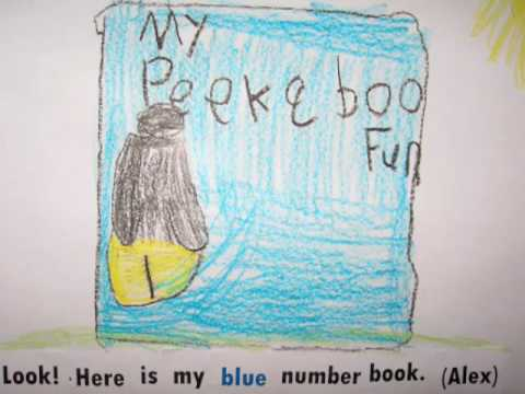 Blue Sentences- January 2010- Look!  Here is my blue ______.