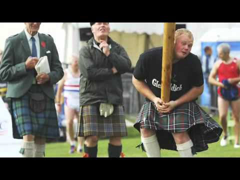 The Coolest Stuff On The Planet- Highland Games, Heather and Her Majesty