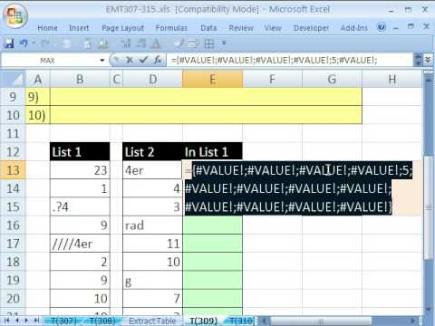 Excel Magic Trick 309: Partial Text Match: Why 2^15?