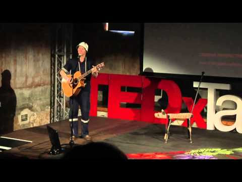 Rhythm is our mother tongue: croc-E-moses at TEDxTableMountain