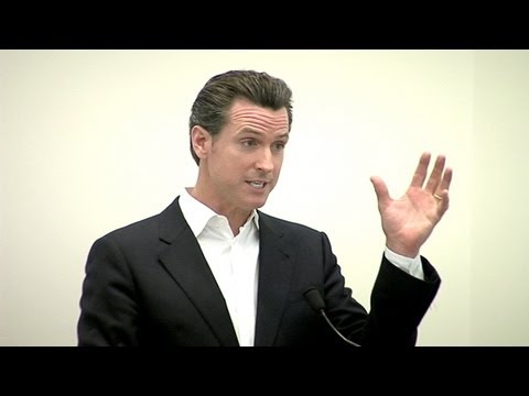 Gavin Newsom: Don't Overlook Arts Education