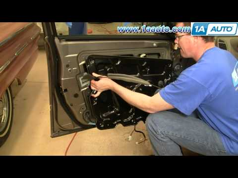 How To Replace power Window regulator or Motor Nissan Maxima 2004-08 1AAuto.com