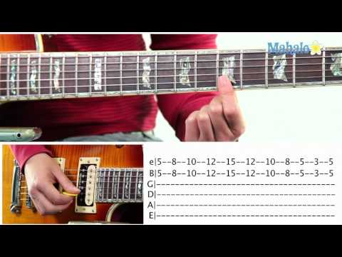 Mahalo Guitar Solo Course: Double Stop Practice
