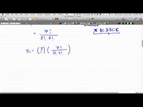 Discrete Math 2-Tutorial 13 - Example 1: Inclusion/Exlusion