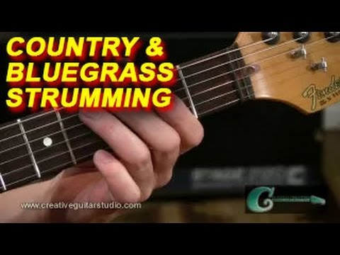 Guitar Lesson: Country & Bluegrass Chord Strumming