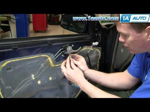 How To Install Replace Inside Door Handle Chevy Impala 00-05 1AAuto.com