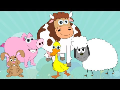 Learn About Farm Animals - Interactive Learning Videos
