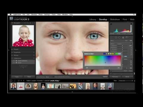 How to use the Adjustment brush in Lightroom | lynda.com tutorial